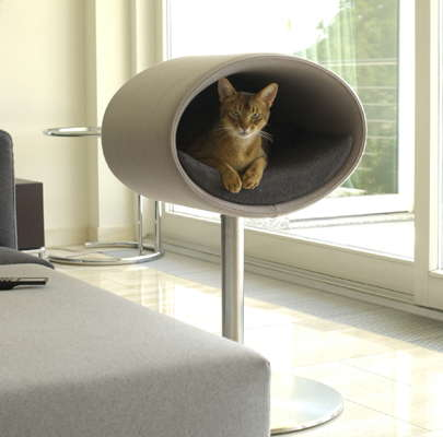 modern cat beds rondo by meyer digsdigs. Black Bedroom Furniture Sets. Home Design Ideas
