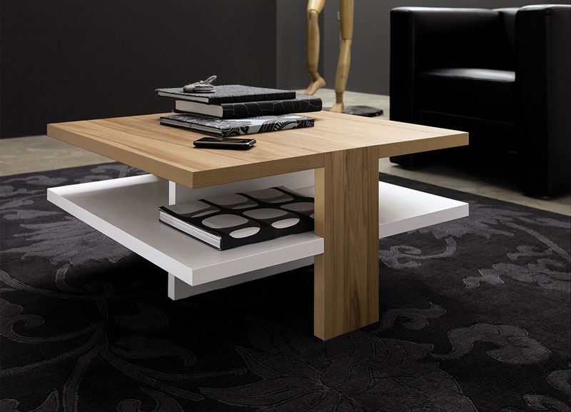 Picture of modern coffee table for stylish living room ct for C tables for living room