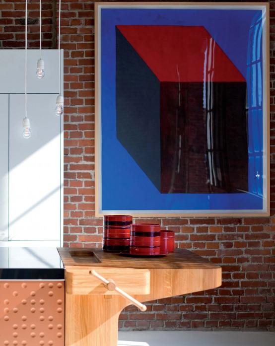 Modern Kitchen With Original Finish Mesa By Schiffini