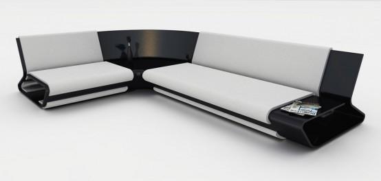 Modern Modular Sofa - Slim by Stephane Perruchon - DigsDigs