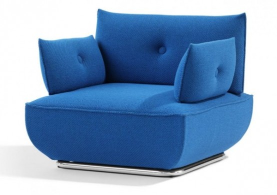 Modern Modular Sofa And Armchair With Flexible Design From Blå Station