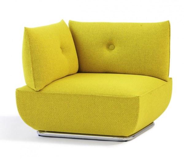 Modern modular sofa and armchair with flexible design from for Terrazas con sofas