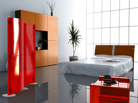 Modern Room Dividers Fluowall By Paxton Digsdigs