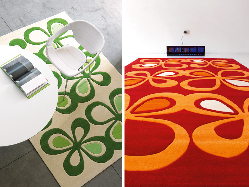 modern rugs with cool designs by dhesja digsdigs