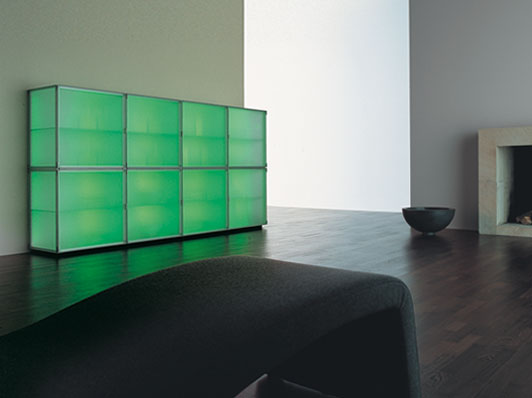 Modern Storage Cabinets With Cool Illumination Eo By Interluebke