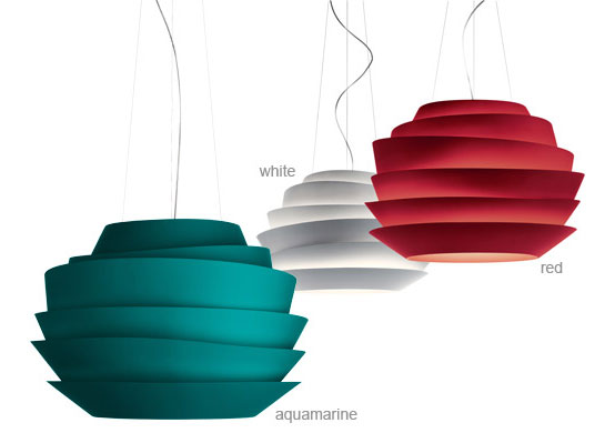 Modern Suspension Lamps - Le Soleil by Foscarini - DigsDigs
