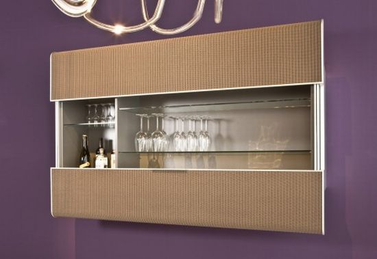 Modern Wall Mounted Sideboard   Levo From Accente