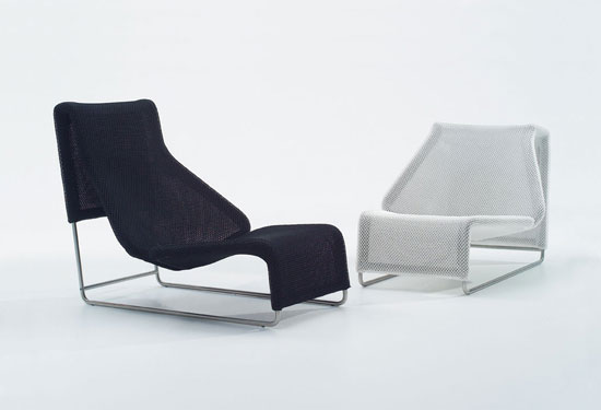 Modern And Comfortable Chaise Lounge From Outdoor Collection By BampB Itali