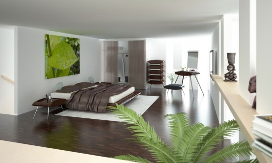 Modern And Elegant Bedrooms By Answeredesign