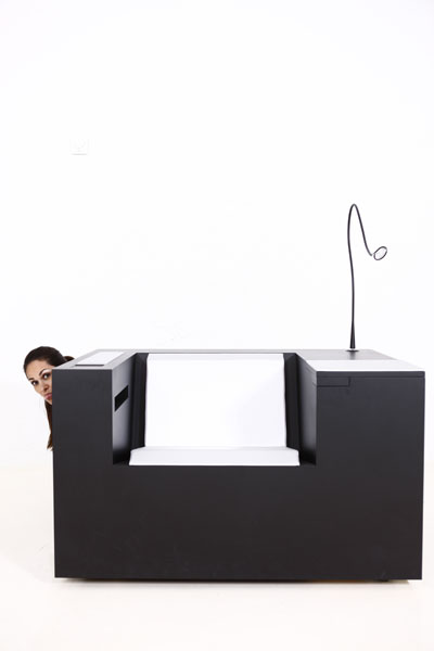Modern And Ergonomic Workstation Four Works By Four Design