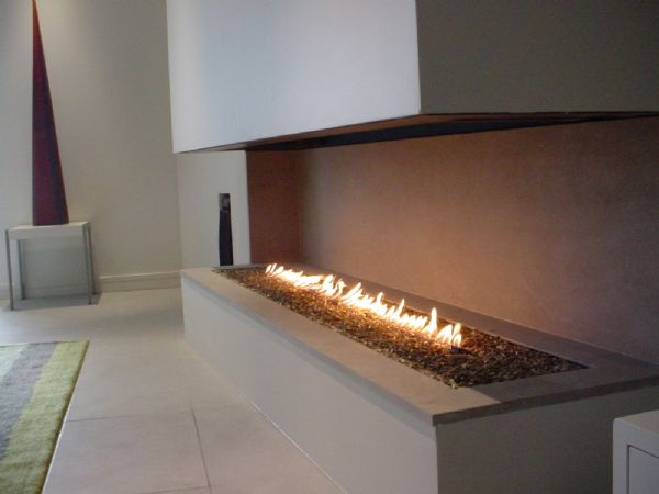 Modern and traditional fireplaces by warmington fires for Hogares modernos a gas