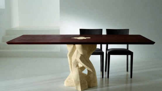 Remarkable Modern Stone Base Dining Table 554 x 314 · 27 kB · jpeg