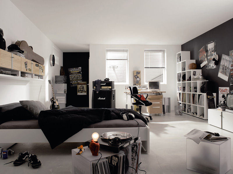 Modern Furniture For Cool Youth Bedroom Design Namic By Huelsta