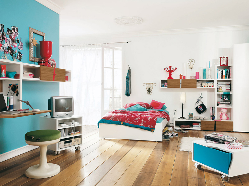 Modern furniture for cool youth bedroom design – namic by huelsta