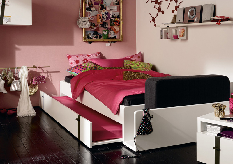 Modern Furniture for Cool Youth Bedroom Design – Namic by Huelsta ...