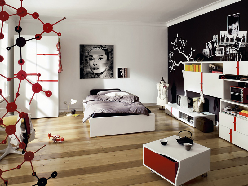 Modern furniture for cool youth bedroom design namic by for Cool designs for bedroom