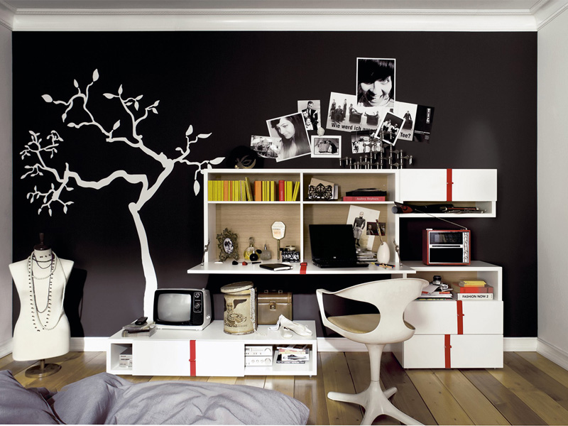 Modern Furniture For Cool Youth Bedroom Design Namic By Huelsta Digsdigs