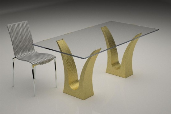 Modern Dining Tables Archives Page 4 Of 4 Digsdigs - Black-dining-table-andrea-by-casamilano