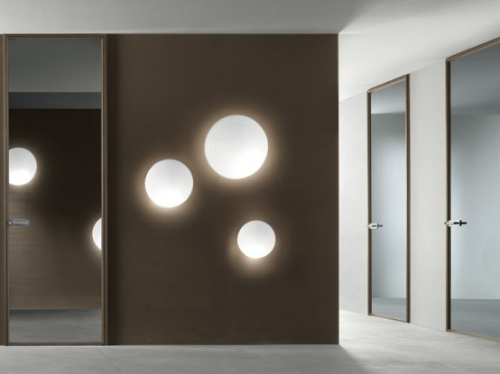 Modern Interior Glass Doors – Spin by Rimadesio