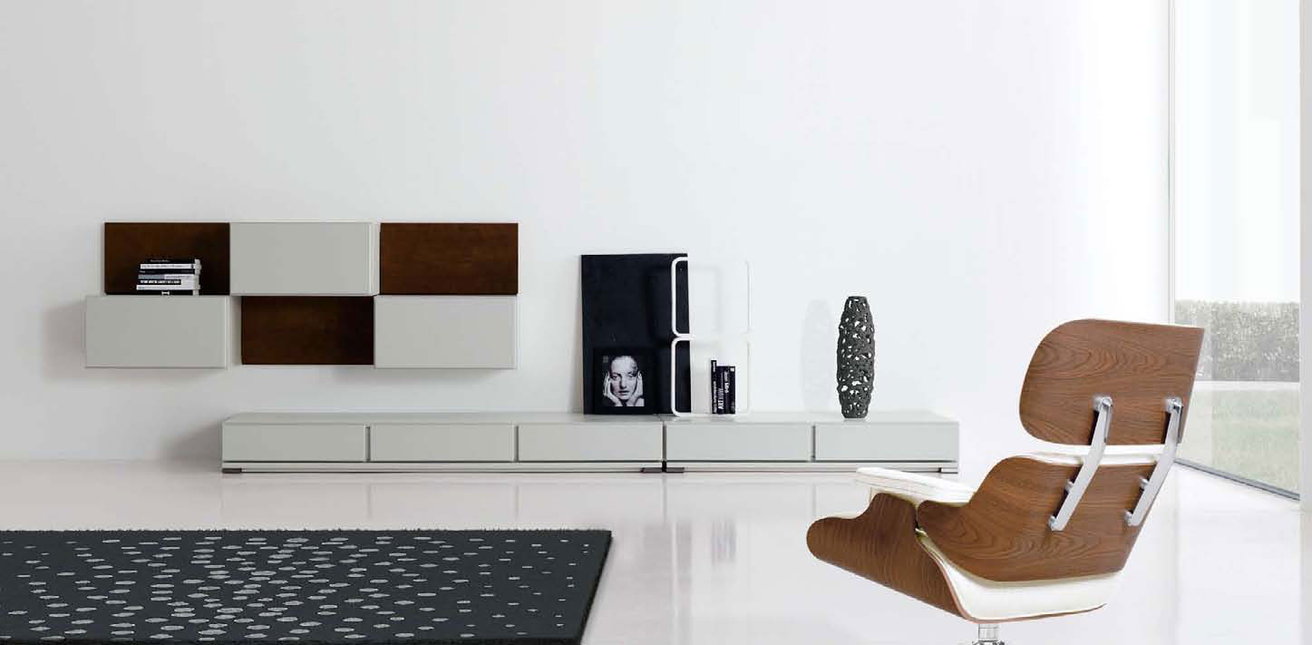 Modern minimalist living room designs by mobilfresno for Minimalist wall decor ideas
