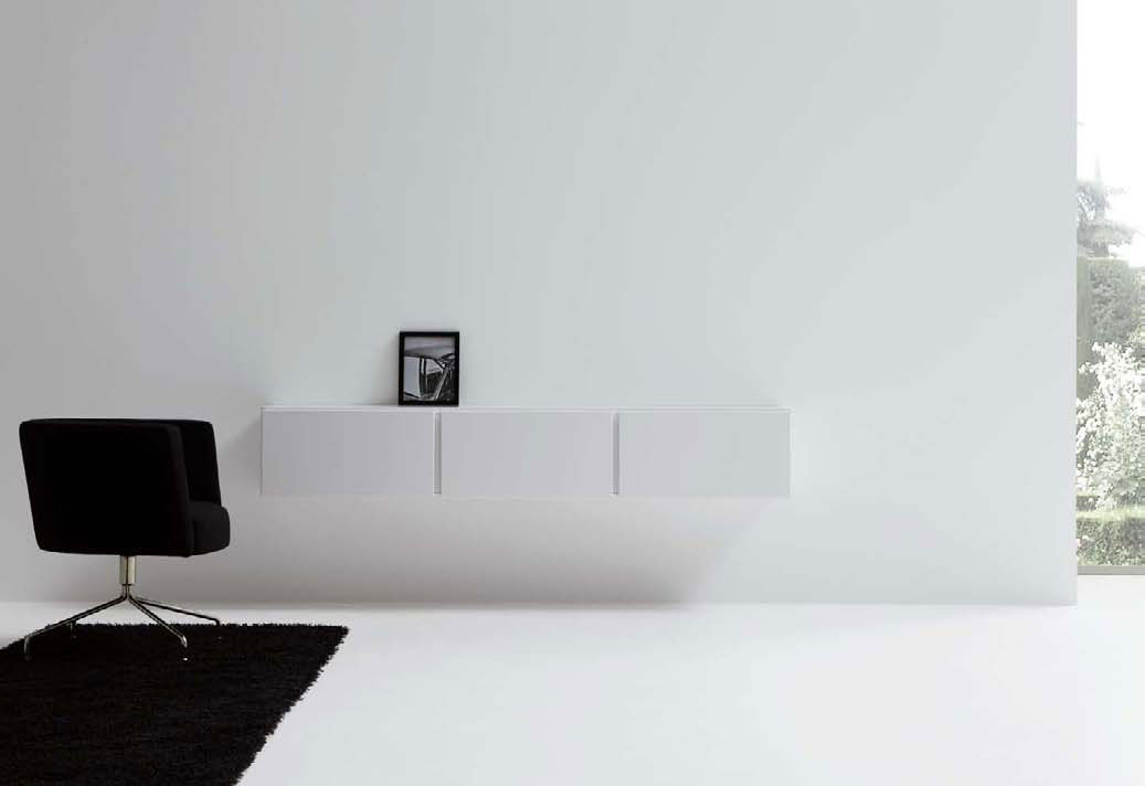 Modern minimalist living room designs by mobilfresno for Minimalist wall decor