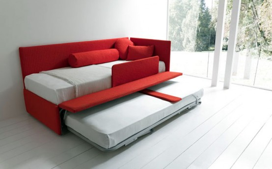 Modern Sleeper Sofas with Practical Constructions by Bolzan - DigsDigs