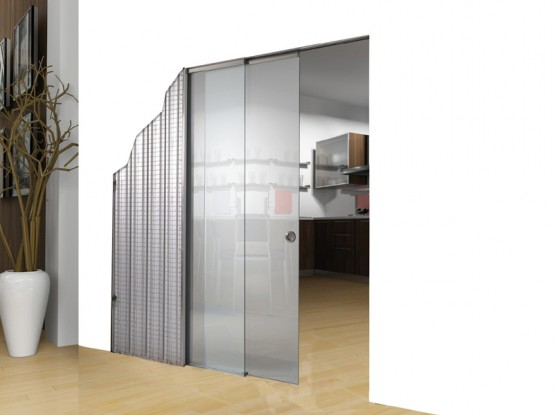 Modern sliding glass doors new essential duals and remix - Contemporary glass doors interior ...