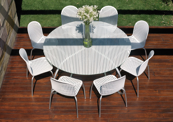Perfect White Outdoor Patio Table and Chairs 575 x 406 · 123 kB · jpeg