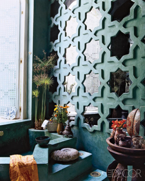 Moroccan Bathroom With Traditional Islamic Design