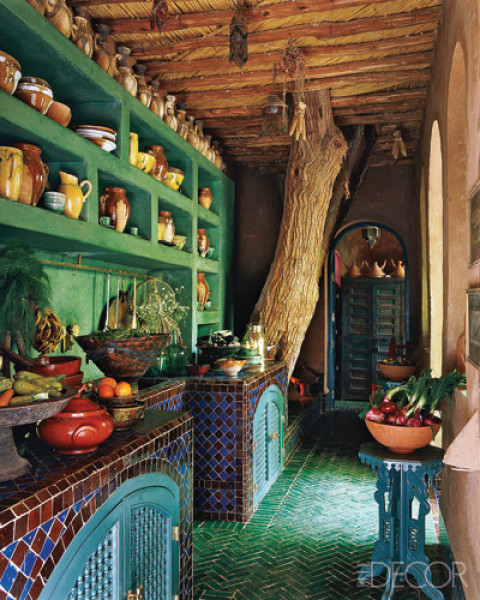 Moroccan Kitchen Design