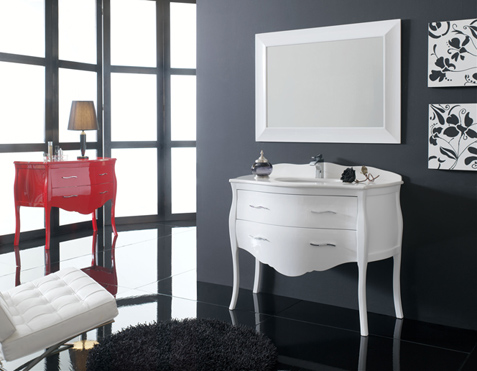 Neoclassic Furniture For Elegant Bathroom Interior Design Paris By Macral