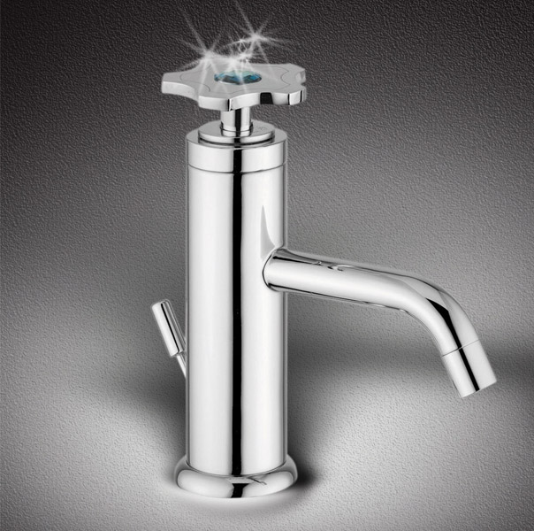 new bathroom faucets with swarovsky crysyal crystal by