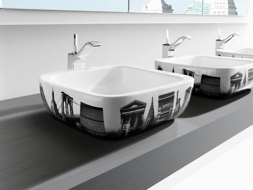 New Decorative Bathroom Sinks Urban By Roca