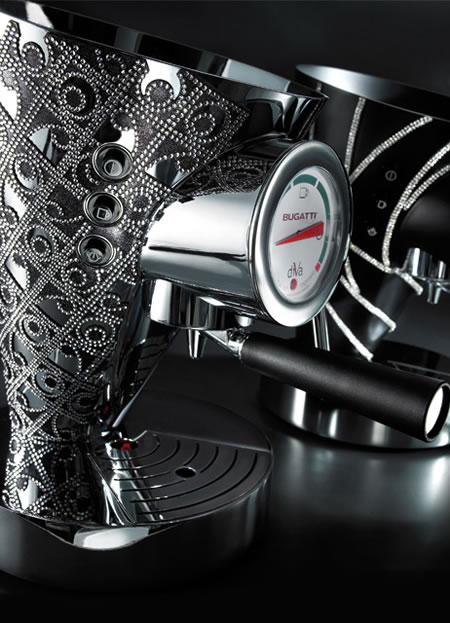 New Luxury Designs Of Bugatti's Coffee Makers