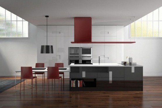 New Modern Kitchen Design – Carré by Ernestomeda