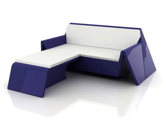 New modern outdoor furniture rest by vondom digsdigs for What is contemporary furniture style