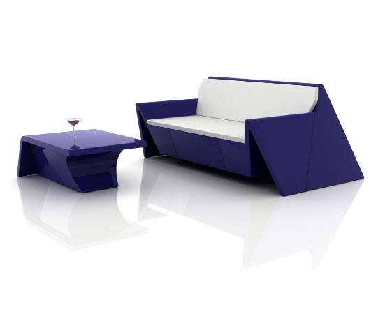 New Modern Outdoor Furniture – Rest by Vondom