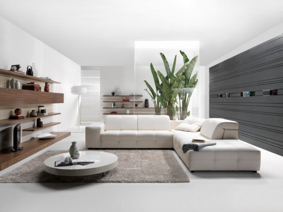 New Modern High-Tech Sofa – Surround from Natuzzi