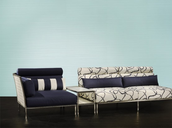New Outdoor Patio Furniture from Fendi Casa
