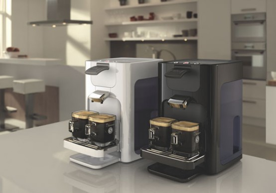 new senseo coffee machine quadrante by philips digsdigs. Black Bedroom Furniture Sets. Home Design Ideas
