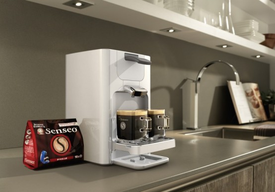New Senseo Coffee Machine Quadrante By Philips
