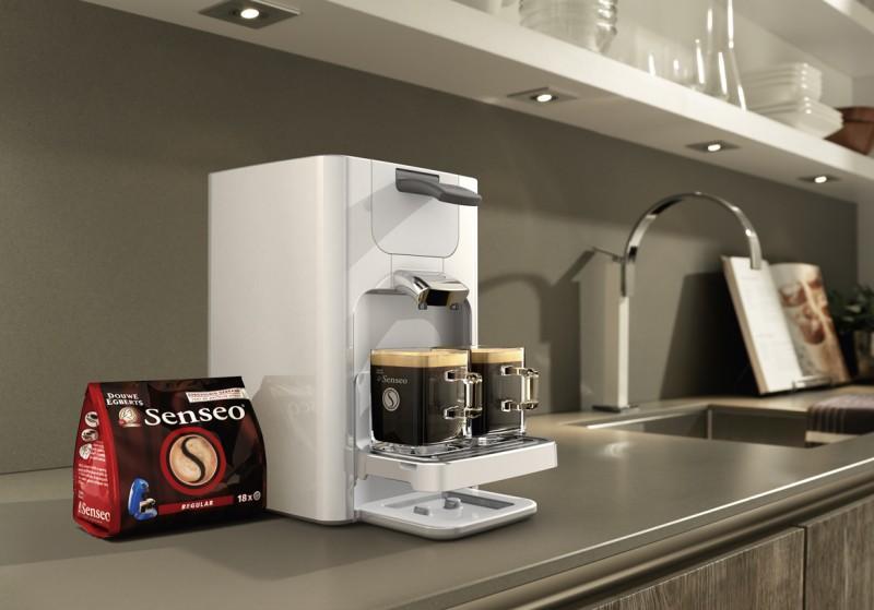 new senseo coffee machine quadrante by philips digsdigs. Black Bedroom Furniture Sets. Home Design Ideas