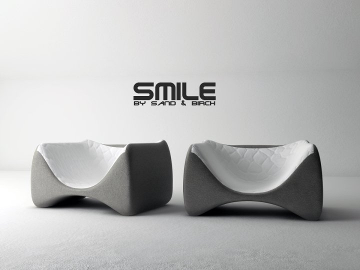 New Awesome Armchair – Smile by Sand&Birch