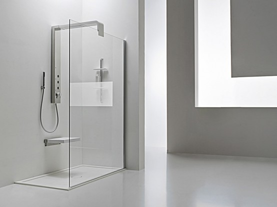 New Modern Shower Column – Onda by Arblu