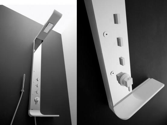 New Modern Shower Column Onda By Arblu