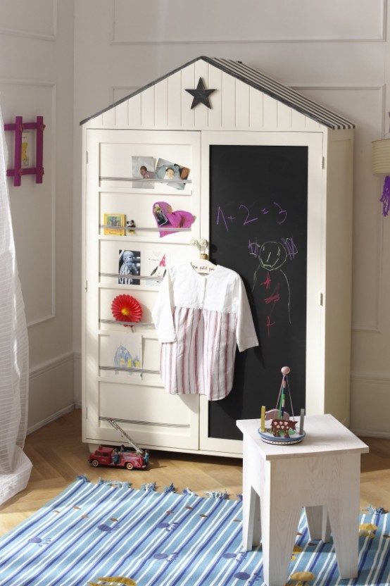 Nice Kids Wardrobes by Car Moebel - DigsDigs