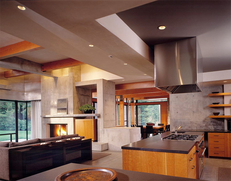 interior decorating homes northwest contemporary home woodway residence digsdigs 12628