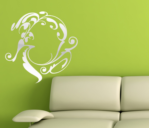 Mirror stickers one of the most beautiful wall stickers for Miroir stickers