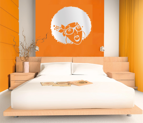 Mirror stickers one of the most beautiful wall stickers for Beautiful bedroom walls