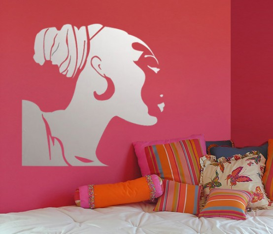 One Of The Most Beautiful Wall Stickers  Mirror Stickers